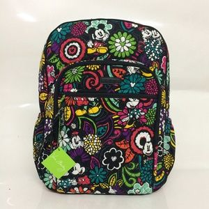 NWT Vera Bradley Campus Backpack Mickey Magical